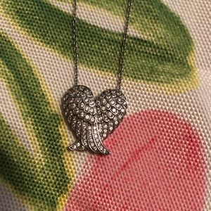 Wings/Heart Necklace